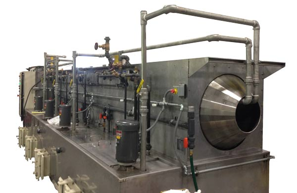 Large Rotary Drum Washer Auger Parts Washer