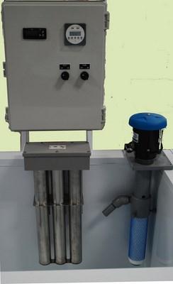Polypropylene Passivation Tanks - Pump Heaters