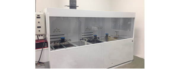 Electropolishing Wet Bench System with nitric acid passivation
