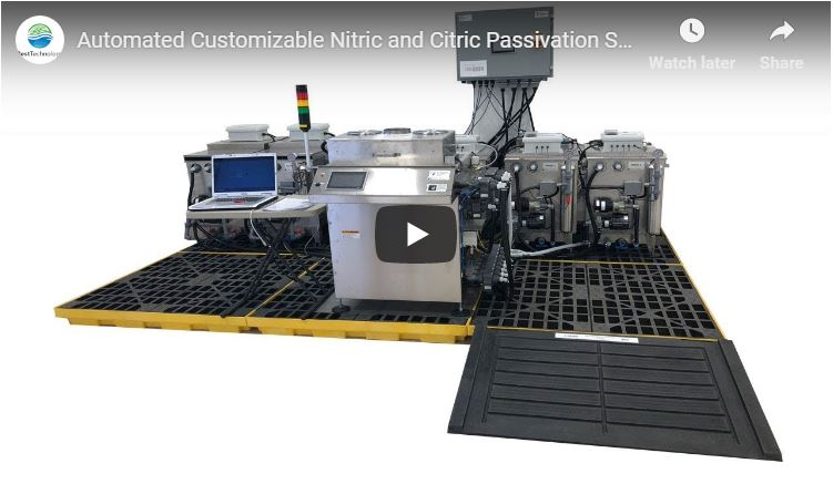 Automated Customizable Nitric and Citric Passivation System