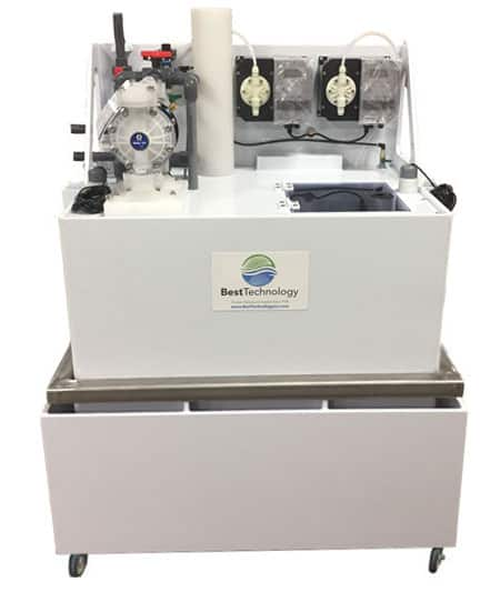 Automated Chemical Neutralization Tank / Cart