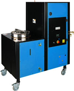 Chemical waste recycling equipment