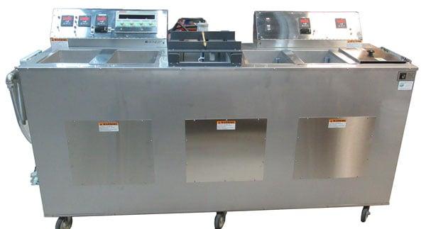 Electropolishing wet bench / console