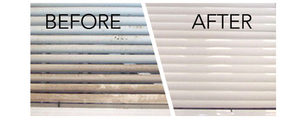 Window Blind Cleaning Before After Ultrasonics