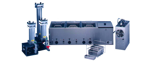 Benchtop Ultrasonic Parts Cleaning System - Multi-Tank Parts Washer