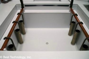 Electropolishing Titanium Cathode Copper Buss Bars - Wet Process Station