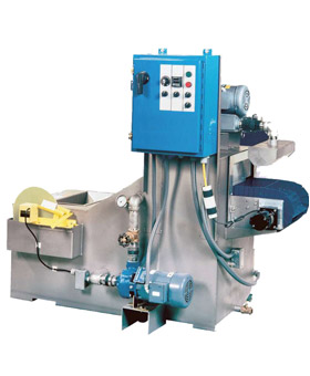 Pass Through Parts Washer Immersion Spray Conveyor