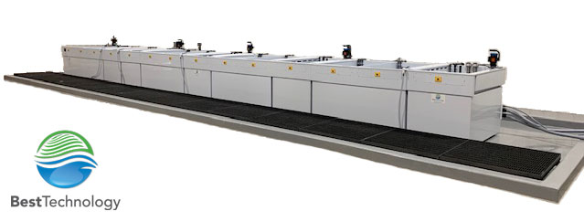 Large-scale alodine line