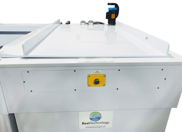Alodine / Chem film line - cleaner tank