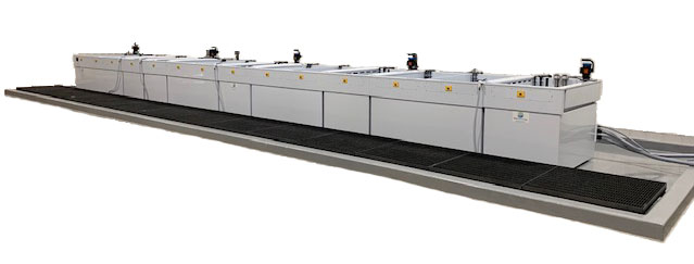 Alodine tank line - Chem film equipment