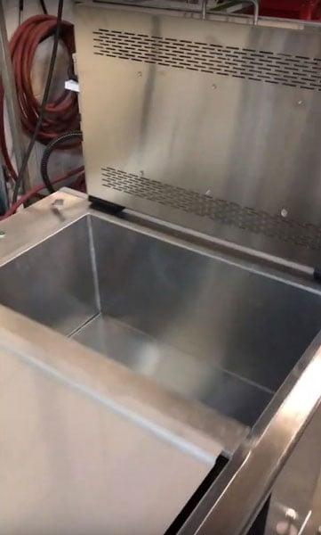 Dryer Tank in Ultrasonic Console