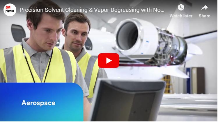 Precision Solvent Cleaning & Vapor Degreasing with Novec Fluids