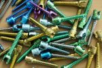 Titanium Anodized Screws - Type 3 - Color