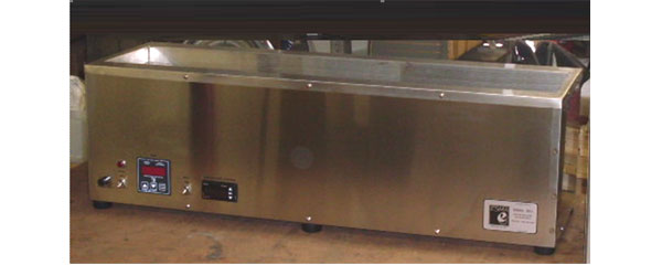 Ultrasonic cleaner tank