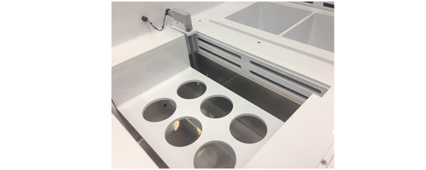 Ultrasonic Cleaning Beaker Fixture